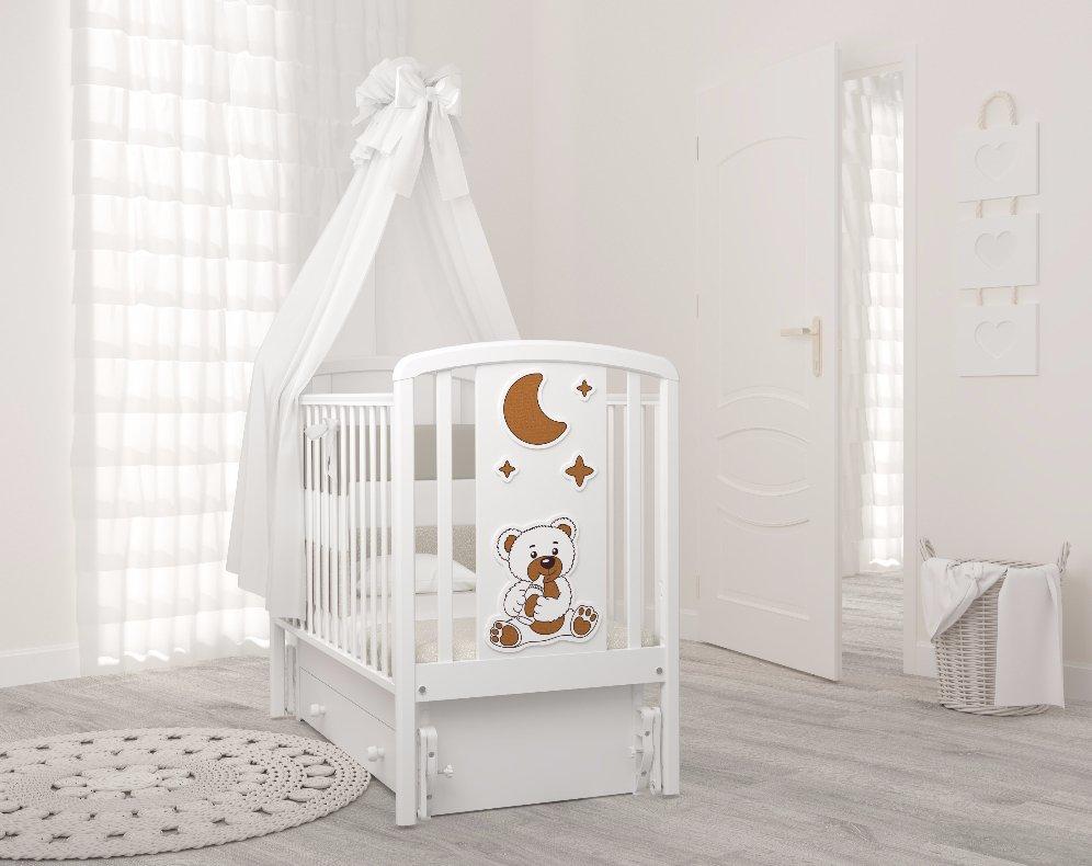 маятниковая детская кровать схема