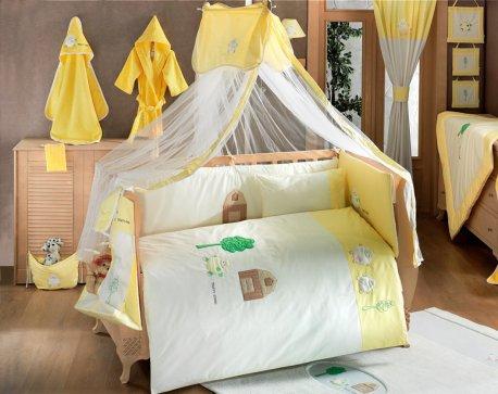 Комплект в кровать для новорожденных